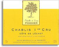 2011 Domaine Denis Et Isabelle Pommier Chablis Cote De Lechet