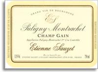 2011 Domaine Sauzet Puligny-Montrachet Champs-Gain