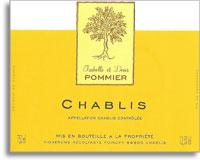 2013 Domaine Denis et Isabelle Pommier Chablis