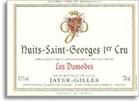 2009 Domaine Jayer Gilles Nuits-Saint-Georges Les Damodes