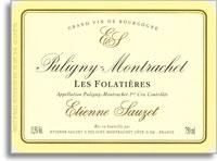2011 Domaine Sauzet Puligny-Montrachet Folatieres