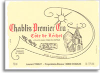 2011 Domaine Laurent Tribut Chablis Cote De Lechet