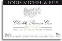 2012 Domaine Louis Michel Chablis Butteaux