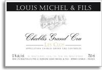 2010 Domaine Louis Michel Chablis Les Clos