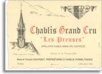 2009 Domaine Vincent Dauvissat Chablis Les Preuses