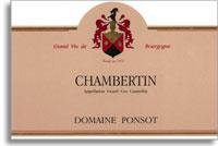 2008 Domaine Ponsot Chambertin