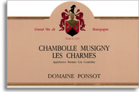 2010 Domaine Ponsot Chambolle-Musigny Les Charmes