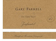 2010 Gary Farrell Wines Zinfandel Bradford Mountain Dry Creek Valley