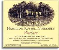 2008 Hamilton Russell Vineyards Pinot Noir Walker Bay