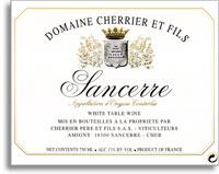 2010 Domaine Cherrier Et Fils Sancerre