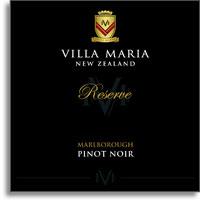 2005 Villa Maria Estate Pinot Noir Reserve Marlborough