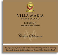 2010 Villa Maria Estate Riesling Cellar Selection Marlborough
