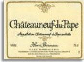 2007 Domaine Henri Bonneau Chateauneuf-du-Pape