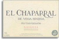 2010 Bodegas Nekeas El Chaparral De Vega Sindoa Old Vine Garnacha Navarra