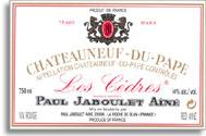 2007 Paul Jaboulet Aine Chateauneuf-du-Pape les Cedres