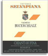 2004 Selvapiana Chianti Rufina Riserva Bucerchiale