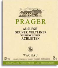 2000 Weingut Prager Gruner Veltliner Auslese Achleiten