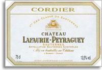 1998 Chateau Lafaurie Peyraguey Sauternes