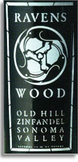 2012 Ravenswood Winery Zinfandel Old Hill Sonoma Valley