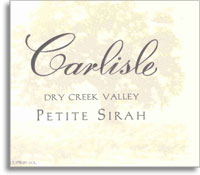 2013 Carlisle Winery Petite Sirah Dry Creek Valley