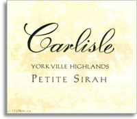 2008 Carlisle Winery Petite Sirah Yorkville Highlands