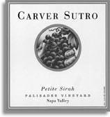 2002 Carver Sutro Wines Petite Sirah Palisades Vineyard