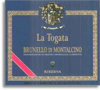 2010 La Togata Brunello di Montalcino Riserva
