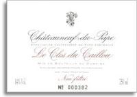2010 Le Clos du Caillou Chateauneuf-du-Pape Reserve
