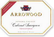 2012 Arrowood Vineyards And Winery Cabernet Sauvignon Reserve Speciale Sonoma