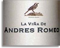 2006 Vinos De Benjamin Romeo La Vina De Andres Romeo Rioja