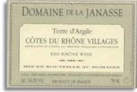 2010 Domaine de la Janasse Cotes du Rhone Villages Terre d'Argile