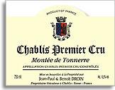 2010 Domaine Jean-Paul & Benoit Droin Chablis Montee de Tonnerre
