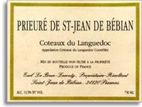 2004 Prieure de Saint-Jean de Bebian Coteaux du Languedoc