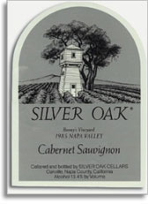 1986 Silver Oak Cellars Cabernet Sauvignon Bonny's Vineyard