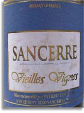 2012 Patient Cottat Sancerre Vieilles Vignes