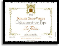 2010 Domaine Grand Veneur Chateauneuf-du-Pape Blanc La Fontaine