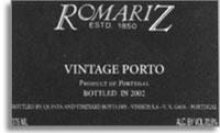 2007 Romariz Vintage Port