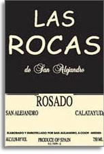 2012 Las Rocas De San Alejandro Rosado Calatayud