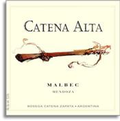 2011 Bodega Catena Zapata Malbec Catena Alta Mendoza