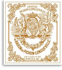 2002 Chateau Pichon Longueville Baron Pauillac