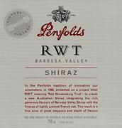 2001 Penfolds Wines Shiraz Rwt Barossa Valley