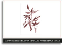 2007 Arnot-Roberts Syrah Hudson Vineyard North Block Carneros
