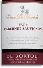 2009 De Bortoli Wines Cabernet Sauvignon Deen Vat 9 South Eastern Australia