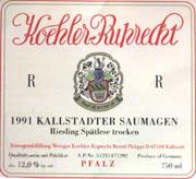 2004 Koehler-Ruprecht Kallstadter Saumagen Riesling Spatlese Trocken