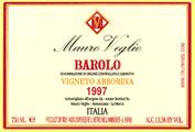 2010 Mauro Veglio Barolo Vigneto Arborina
