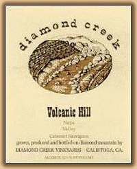 2007 Diamond Creek Vineyards Cabernet Sauvignon Volcanic Hill Diamond Mountain