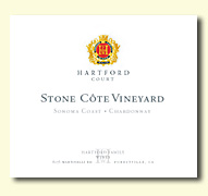 2007 Hartford Family Wines Hartford Court Chardonnay Stone Cote Sonoma Coast Vineyard