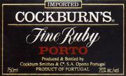 NV Cockburn Fine Ruby Port