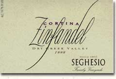 2013 Seghesio Family Vineyards Zinfandel Cortina Dry Creek Valley