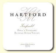 2012 Hartford Family Wines Zinfandel Dina's Vineyard Old Vine Russian River Valley